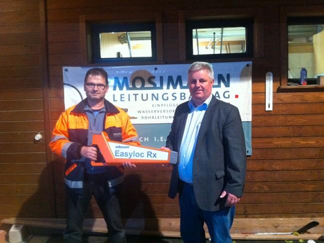 Mosimann Leitungsbau AG Easyloc